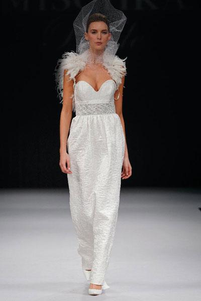 Свадебное Платье С Элементами Перьями 100