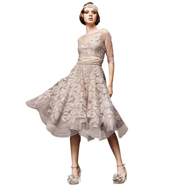 Винтажное богемное свадебное платье