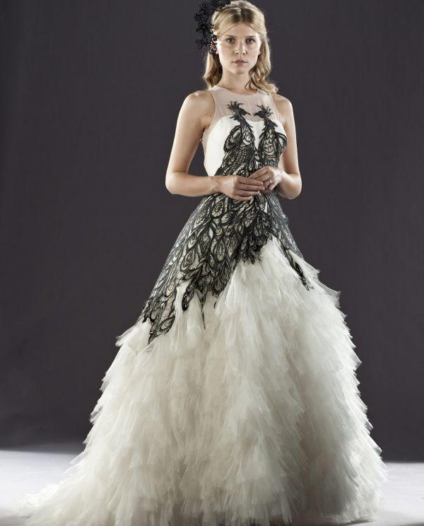 Свадебное Платье С Элементами Перьями 47